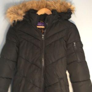 6d9044b4819 Madden Girl black winter coat